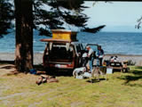 Photo of the Bates Beach Boathouse Okeanfront RV Resort camping