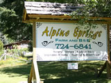 Photo of the Alpine Springs Farm and B&B camping