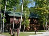 Photo of the Presque Isle Lodge camping