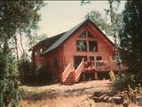 Photo of the Butler's Lakefront Log Cabin camping