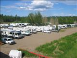 Photo of the Fort Nelson Truck Stop camping