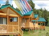 Photo of the Teepee Lakes Resort lodge