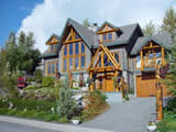 Photo of the Nu-salya Guest Chalet at Garibaldi  camping