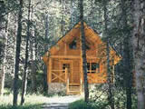Photo of the Cathedral Mountain Chalets camping