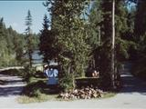 Photo of the Sander Lake Campground