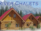 Photo of the Kicking Horse River Chalets camping