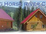 Photo of the Kicking Horse River Chalets