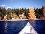 Photo of the Nation Lakes Canoeing & Fishing Camp lodge