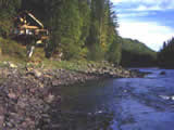 Photo of the Clearwater River Chalet camping
