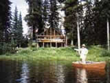 Photo of the Tuloon Lake Fishing Lodge camping