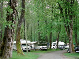 Photo of the Fort Langley Camping lodge