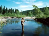 Photo of the Buckinghorse River Wayside Provincial Park camping
