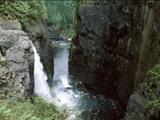 Photo of the Elk Falls Provincial Park