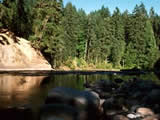 Photo of the Englishman River Falls Provincial Park