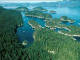 Photo of the Desolation Sound Marine Provincial Park