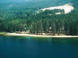 Photo of the Porpoise Bay Provincial Park