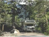 Photo of the Prudhomme Lake Provincial Park (M. Stokes) camping