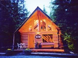 Photo of the Log & Hearth Mountain Chalet camping