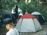 Photo of the Silver Lake Forest Education Society camping