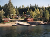 Photo of the Quesnel Lake Resort camping