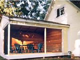 Photo of the Yellow Cottage camping