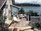 Photo of the Quadra Island Harbor House camping